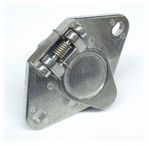 Tow Pro 15400 4-Way Trailer Wiring Connector Socket