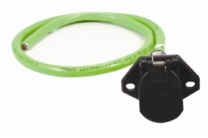 "Phillips Industries 16-7401 48"" QCS Wire Harness with 7-Way STA DRY Trailer Wiring Socket"