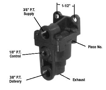 Bendix 065154X Reman LQ-5 Bobtail Limiting Valve