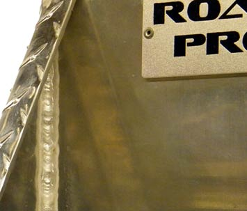 Road Pro welds are top notch