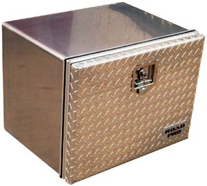 Road Pro 18x18x24 Front Opening Tool Box with Diamond Plate Door