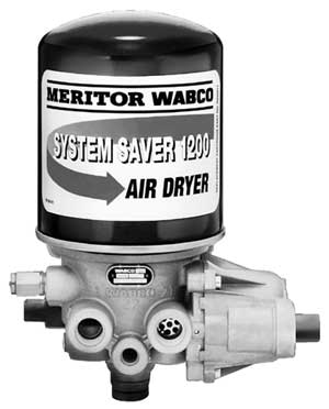 WABCO 4006110500 1200 System Saver Air Dryer, 12-Volts DC, Formerly Meritor R955205