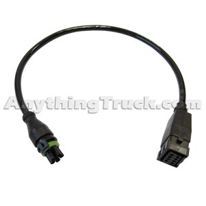 WABCO 4493260050 Trailer ABS Power Cable for Enhanced Easy Stop Systems, 1.65 Feet Long