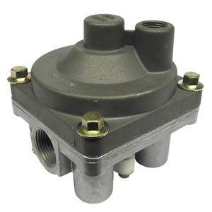 Aftermarket 110380 Service Relay Valve, 1.5PSI Crack Pressure, 4 Delivery Ports, Nipple Mounted