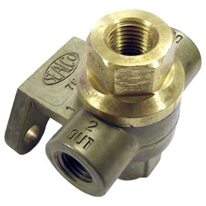 "Sealco 7800 Frame-Mounted Quick Release Valve, 1/4"" NPT Ports"