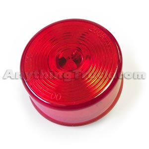 Pro LED 200RC24V 24-Volt Red 2-Inch Round LED Marker Light with Circle Lens