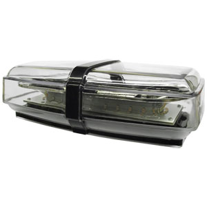 Pro LED 24CLWM Amber LED, Clear Lens Mini Light Bar Warning Light with Magnet Mount, 10-30 VDC