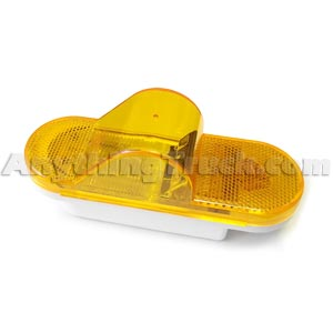 "Pro LED 3544Y 6"" Amber LED Mid-Turn Signal Light, SAE J2039 Compliant, Legal in All 50 States"
