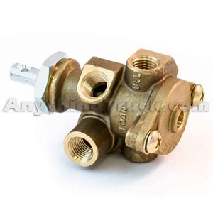 Tramec Sloan 401029 Push/Pull Valve with 2-Way Check Valve