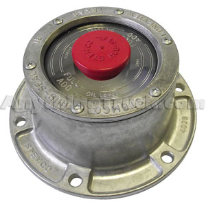 "Stemco 340-4009 Bolt-On Hub Cap and Gasket, 5.5"" Bolt Circle, Fits Most Semi Trailers"