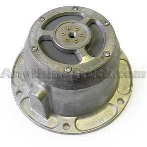 Stemco 340-4372 MTIS PSI Trailer Hub Cap and Gasket, Fits Grease Packed Hubs with HM518445 Bearings