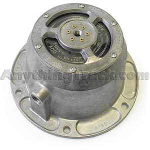 Stemco 343-4372 MTIS PSI Trailer Hub Cap and Gasket, Fits Oil Bath Hubs with HM518445 Bearings