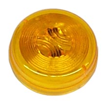 "30200YPTP Yellow 2"" Sealed Marker/Clearance Light, Incandescent, 12 VDC"