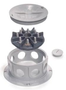 Truck-Lite 50400 8-Terminal Round Surface Mount Junction Box
