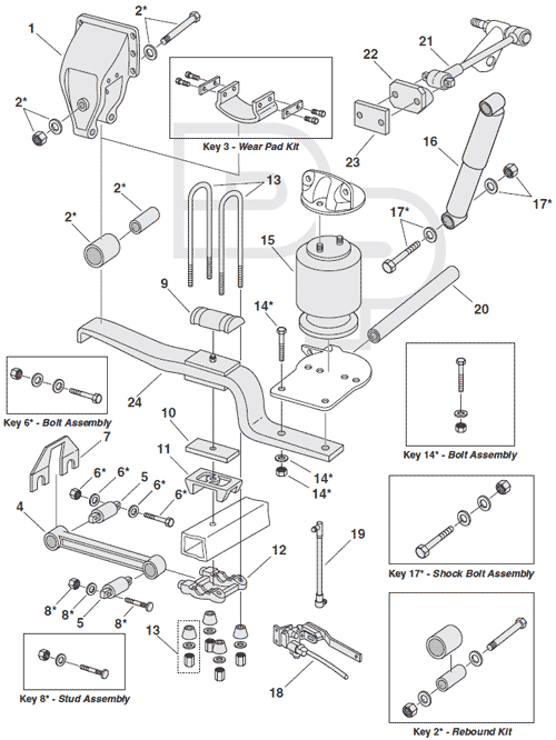 Heavy Duty Truck Air Suspension Engine Diagram And