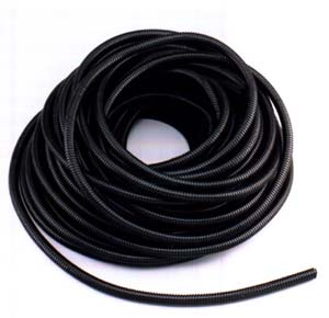 "1/4"" Convoluted Split Loom - 100 Feet Roll"
