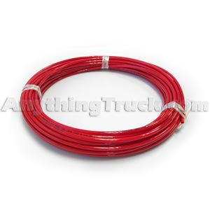 "Red 1/2"" Nylon Air Brake Tubing, D.O.T. Compliant (Order Feet Needed)"