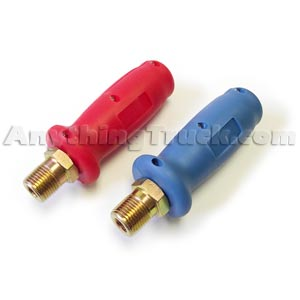 PTP Gladhand Grips - One Blue & One Red