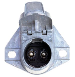 PTP 593121 2-Way Wiring Connector Socket, 200 Amp Capacity, 4 Gauge Cable