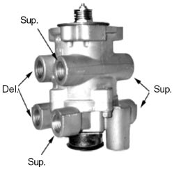 Ptp 800629 E 8p Basic Air Brake Foot Valve Anythingtruck