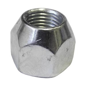 "9/16""-18 Cone Wheel Nut, Right-Hand Thread, 60 Degree"