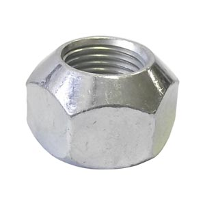 "5/8""-18 Cone Wheel Nut, Right-Hand Thread, 90 Degree"
