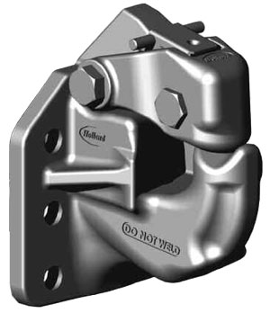 SAF Holland PH-410RN11 50-Ton Rigid Type Pintle Hook (No Air Cushioned Snubber)