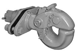 SAF Holland PH-760 25.5-Ton Swivel Type Pintle Hook with Spring Cushion