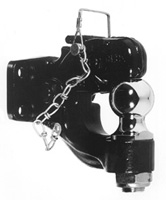 "Buyers Products BH82000 8-Ton Combination Hitch with 2"" Hitch Ball and Pintle Hook"