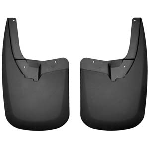 Husky Liners 57151 Rear Wheel Custom Molded Mud Guards, 1 Pair, Dodge Ram WITHOUT OEM Fender Flares