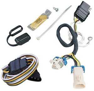 GM S-10 & Sonoma 4-Way Flat Vehicle Wiring Kit