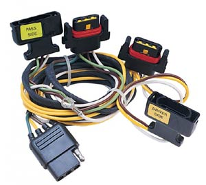 Dodge Taillight Harness to 4-Way Flat Vehicle Wiring Kit