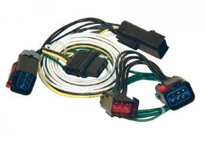 Dodge Minivan Taillight Harness to 4-Way Flat Vehicle Wiring Kit