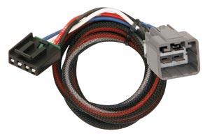 tekonsha 3021-p electric brake controller harness, 2010-2011 dodge ram 1500,