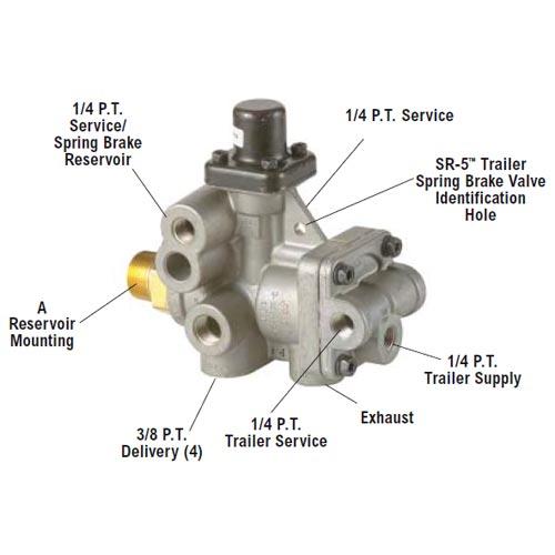 E6FS214005S HARRINGTON Brake Spring # .5 T