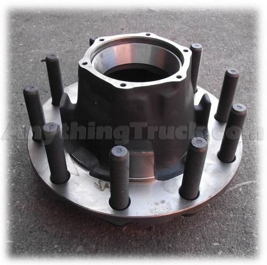 HT818RCPTP Trailer Hub, Converts Cast Spoke or Inboard Mount to Outboard  Hub-Piloted, Steel Wheels