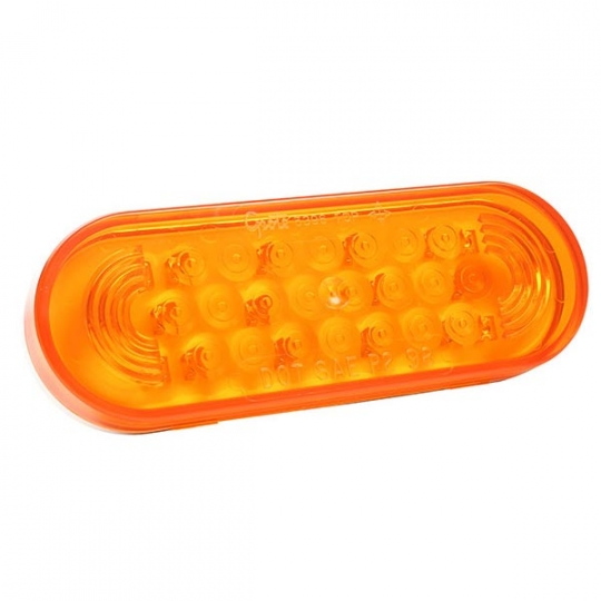 Grote 77363 Yellow Oval LED Strobe Lights