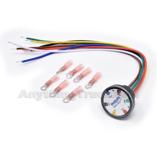 Astounding Phillips 60 9200 Universal Qwik Check Module 7 Way Trailer Power Wiring Database Rimengelartorg
